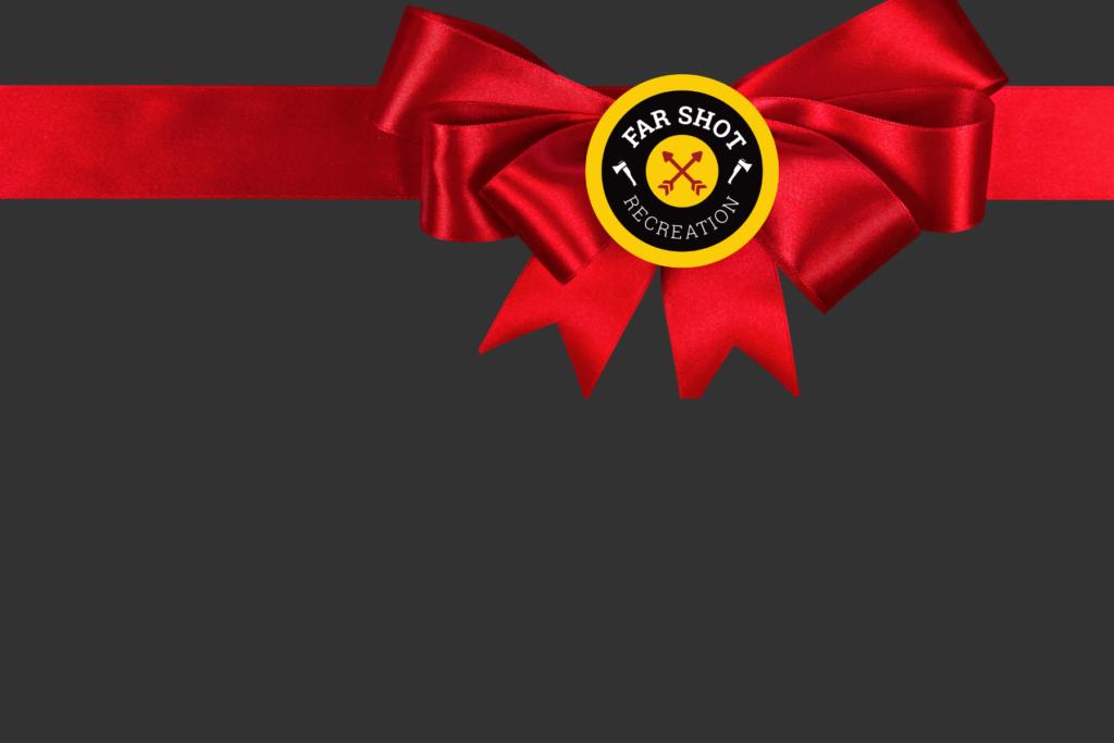 gift bow far shot